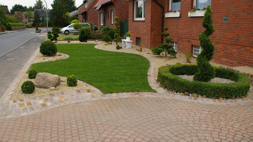 Gartengestaltung – Beetgestaltung mit Kies