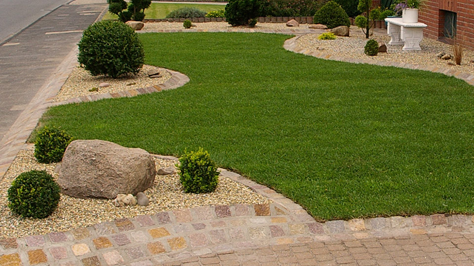 Gartengestaltung - Rasenbauarbeiten